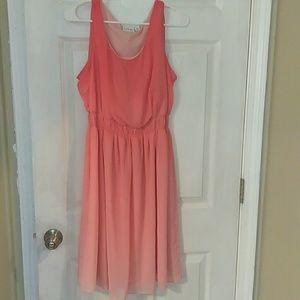 Flowy Ombre dress